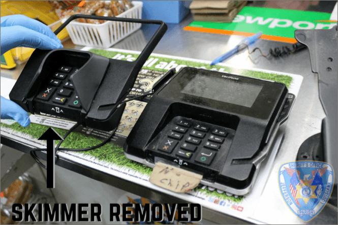 ATM skimmer 2