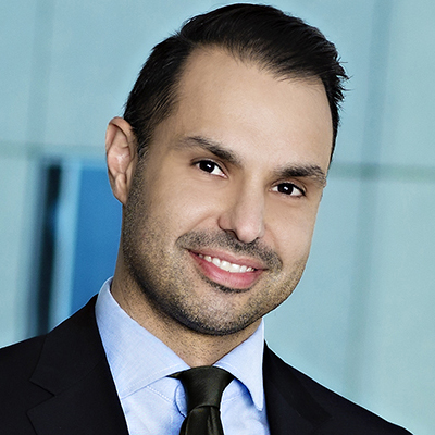 Christopher Naghibi, Esq., Executive Vice President, Chief Credit Officer