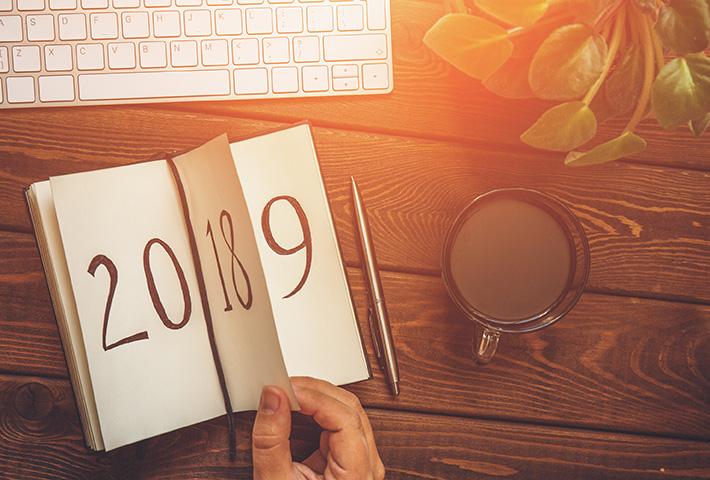 Turning to 2019